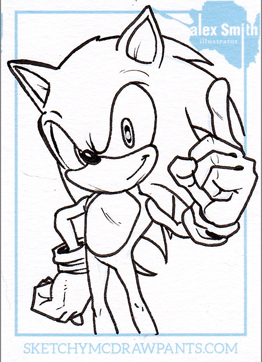 1212 Sonic Sketch Card 10-27-2015